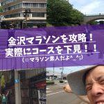 【金沢マラソン2016】根性でコースを実際に下見してきたぞ!参加者は要チェックやで〜!