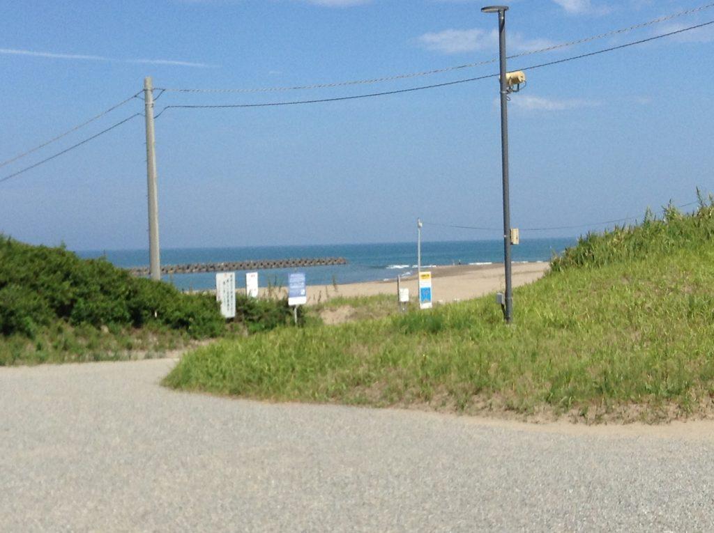 海岸沿いへ