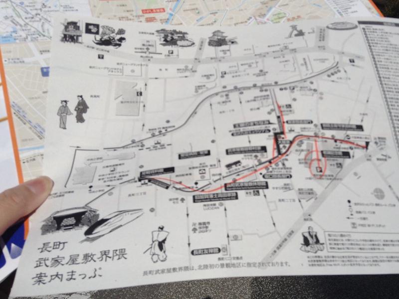 武家屋敷map