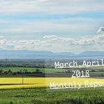 それにしても春はバタバタしたなぁ、もはや婚活ではないけど♪ 2018年3,4月度(婚活33,34ヶ月目)