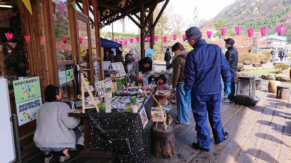 庄川峡桜祭り
