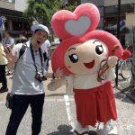 【金沢市香林坊イベント】せせらぎ縁結びまつり2018にゆく、せさミィ絵馬で恋が叶うらしいってよ♡