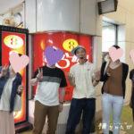 【8番らーめん期間限定】能登中島菜ざるらーめん&海老餃子を食べながらの恋愛トーク♪らぶどラーメン会、再び!